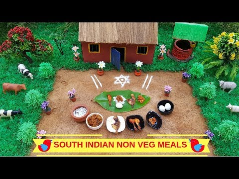 Non Veg Meals || Top South Indian Non Veg Meals || EP#60 || Tiny Chutti Cooking