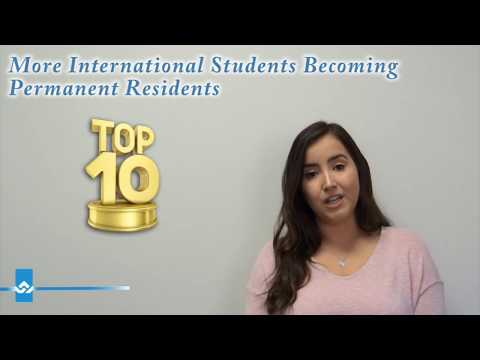 More International Students Becoming Permanent Residents