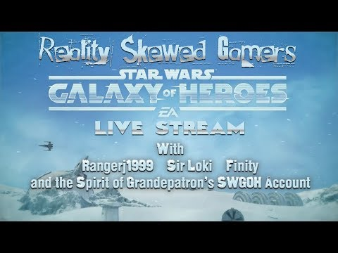 Reality Skewed Gamers SWGOH Live Stream Intro | Star Wars: Galaxy of Heroes #swgoh