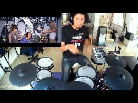 Brandon Beal  -Twerk It Like Miley (Electric Drum cover by Neung)