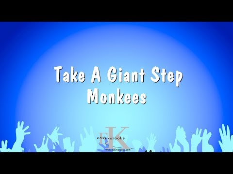 Take A Giant Step - Monkees (Karaoke Version)