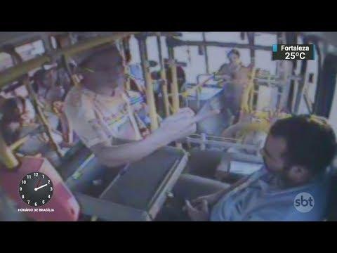 DF: Número de roubos em ônibus cresceu quatro vezes em 2016 | SBT Notícias (03/11/17)