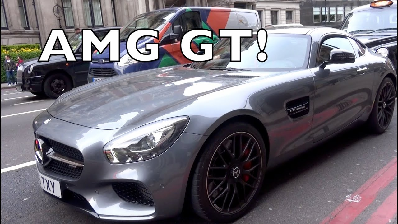 Mercedes AMG GT & Lamborghini Aventador cruising around London!