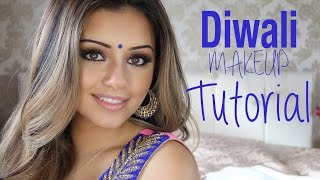 Tutorial | Indian/Diwali Smokey Eye Makeup 2014 | Kaushal Beauty Thumbnail