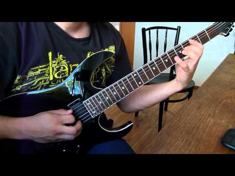 Dark Tranquillity - Focus Shift guitar cover
