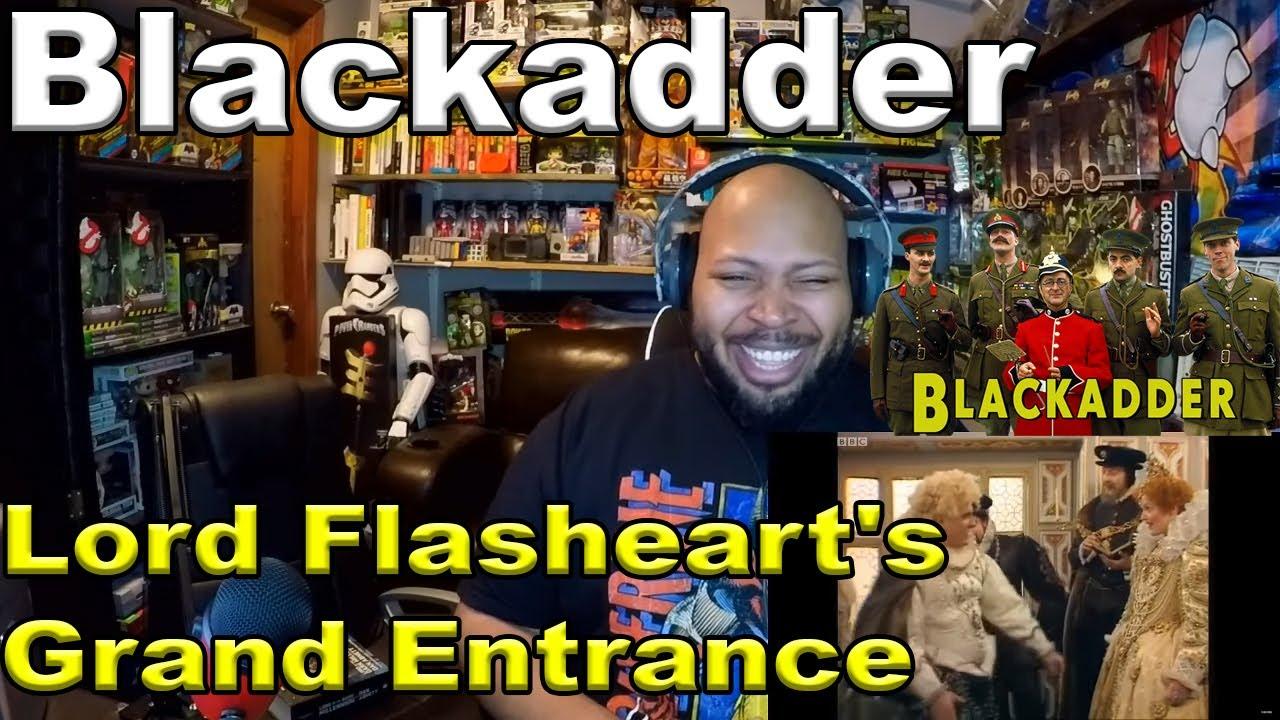 Download Lord Flasheart's Grand Entrance | Blackadder II | BBC Comedy Greats Reaction