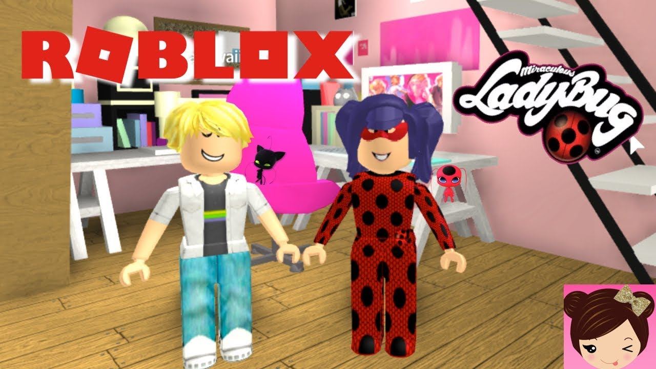 Download Roblox Roleplay Miraculous Ladybug - Running From Adrien! - Kid Friendly Games