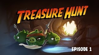 Treasure Hunt | Angry Birds Toons - Ep. 1, S 2