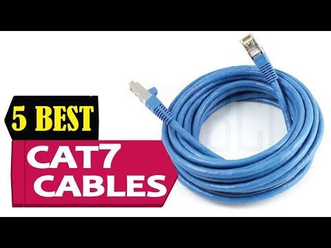 5 Best Cat7 Cables 2018   Best Cat7 Cable Reviews   Top 5 Cat7 Cable
