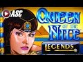 QUEEN OF THE NILE LEGENDS | Aristocrat - Big Win! Retriggered Slot Machine Bonus