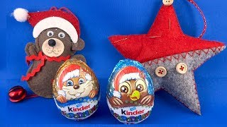 Merry Christmas Kinder Surprise Eggs Unboxing #179