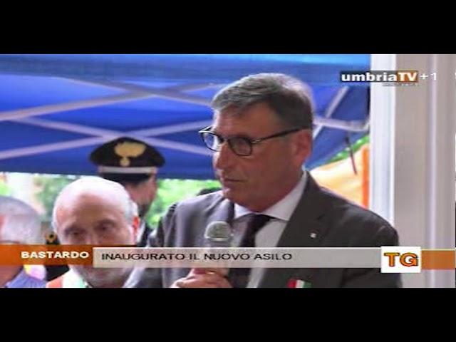 Inaugurazione asilo nido Giano dell'Umbria servizio umbriaTV