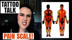 TATTOO TALK | Full Body Pain Scale | HAYLEE TATTOOER