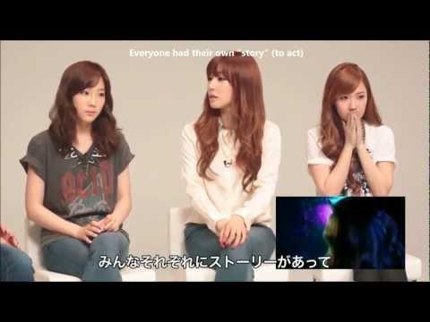 [ENG SUB] 1080p HD 120928 SNSD's Reactions To Time Machine MV