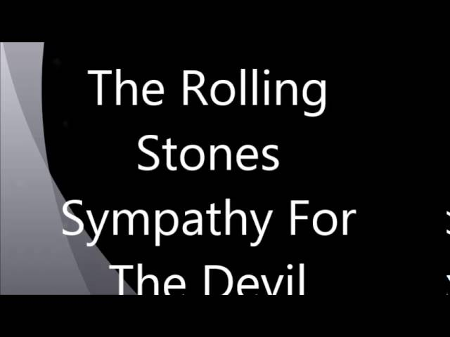 Vocals - The Rolling Stones : Sympathy For The Devil Chords - Chordify