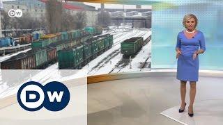 В чем суть блокады Донбасса?   DW Новости (28 02 2017)