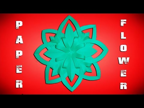 Paper Flowers - Easy Origami Flower Making for Home Decoration