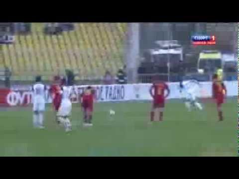 ГОООЛ! Россия - Армения (2-0) Комбаров 05.03