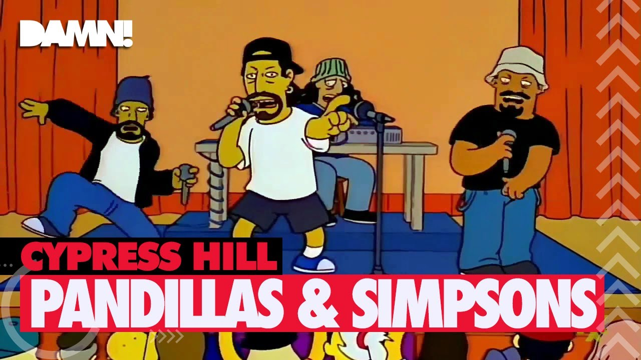 Cypress Hill Rap De Pandillas Y Los Simpsons Throw Your Set In The Air Youtube