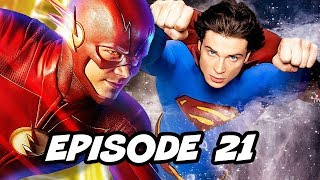 The Flash 4x21 Episode TOP 10 and Comics Easter Eggs