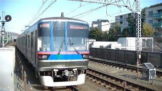 都営三田線6300形6322F急行西高島平行き 目黒線多摩川駅発車