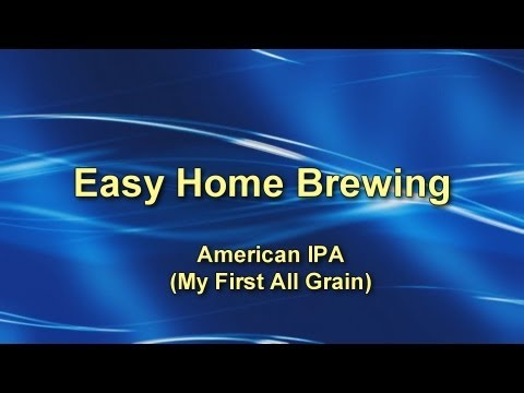 Easy Home Brewing - All Grain on the Stove