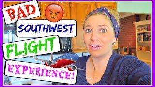 BAD EXPERIENCE ON SOUTHWEST FLIGHT - Full Story! (DAY 699)