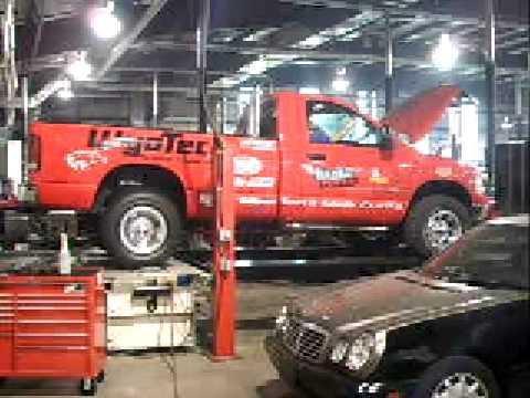 Wyo Tech Blairsville Pullin Truck 2