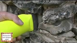 видео Расшивка швов плитки: инструменты и технология работ