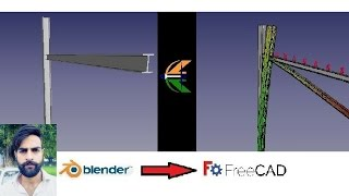FreeCAD Tutorial: Workflow/Interoperability between Blender & FreeCAD