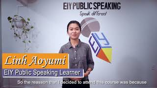 EIY The Art of Public Speaking - Linh Aoyumi