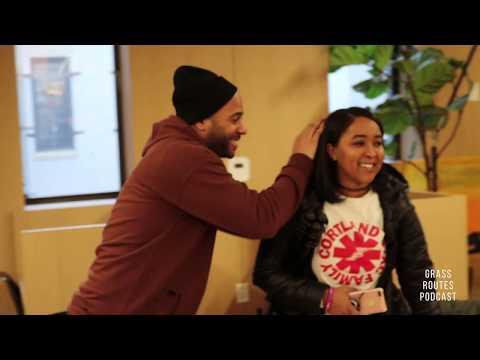 Grass Routes Podcast BTS: GRP Creative Director Britt Came With Hair On Fleek