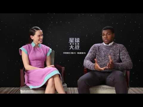 Download Youtube: Daisy Ridley & John Boyega- The Force Awakens interview (2015)