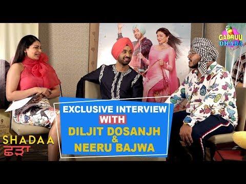 Diljit Dosanjh | Neeru Bajwa - Exclusive Interview - Promo | Shadaa | Vj Vabby | Gabruu Da Dhaba