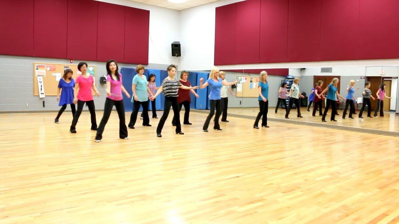 I'm On A Roll - Line Dance (Dance & Teach in English & 中文) - YouTube