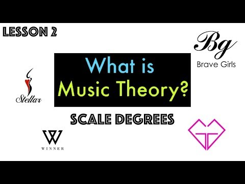MUSIC THEORY Lesson 2: Scale Degrees
