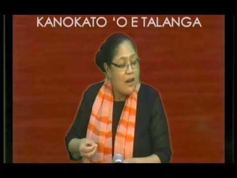 Kanokato120817-Talanoa Pea Mo Dr Lintta Manu'atu.