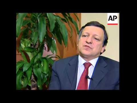 Barroso arrives for talks on trade and political cooperation