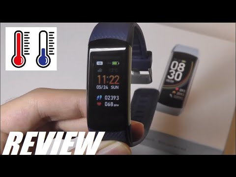 review:-c6t-body-temperature-smart-bracelet-fitness-tracker-(ip68,-heart-rate-monitor)