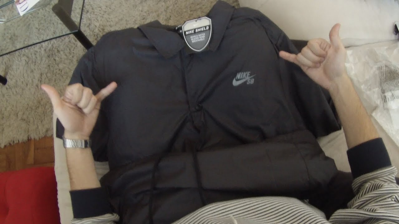 a7b7c93e095 Unboxing Corta Vento Nike SB - YouTube