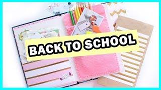 DIY BACK TO SCHOOL * Ежедневник с нуля * Организация Рабочего Стола * Bubenitta
