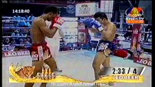 Khmer Boxing, Khim Dima VS Thai, Bayon Boxing, 12 September 2015