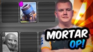 BEST MORTAR DECK! Mortar Control To Get 12 Wins in Grand Challenges! - Clash Royale