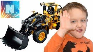 Лего Техник 42030, автопогрузчик Volvo L350F с управлением Lego Techic 42030 развивающие