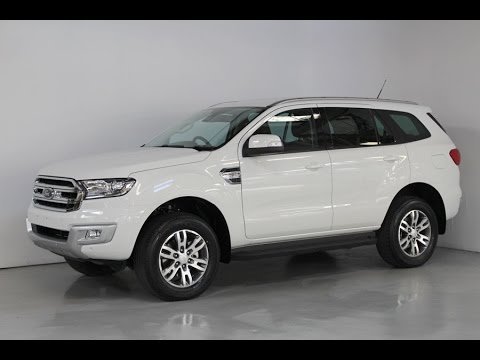 Ford Everest Cool White >> All New Ford Everest Trend Awd Presentation Www
