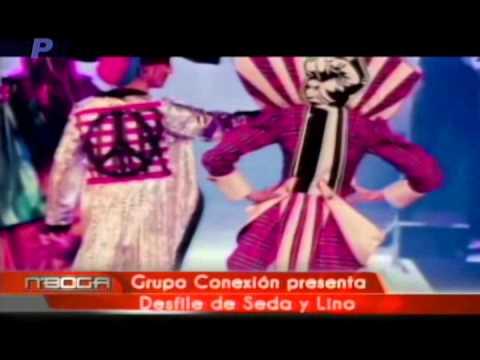 Grupo Conexión presenta desfile de seda y lino