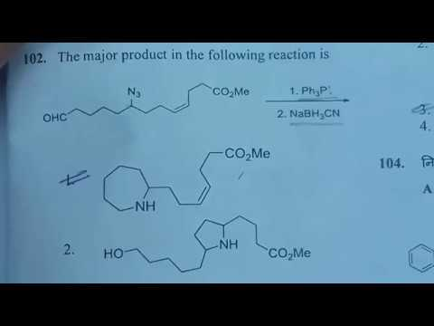 Csir net chemical science june 2016 organic chemistry solution in hindi