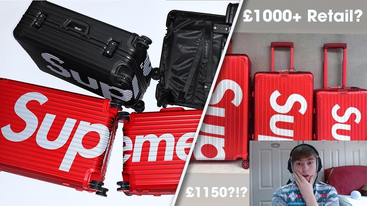 f46ee6ea5 Supreme SS18 Week 8 - Supreme x Rimowa Thoughts - £1050+ Retail ...