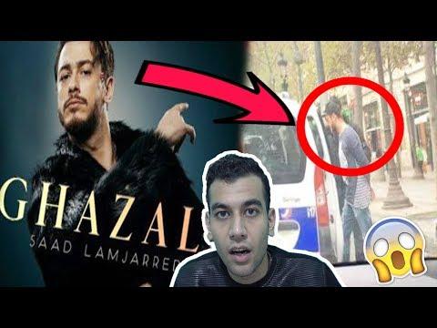 سعد لمجرد هرب من السجن  وعمل فيديو كليب غزالي | 2018  Saad Lamjarred - Ghazali