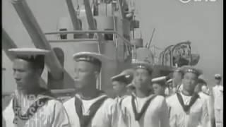 中華民國海軍巡洋艦寧海號舊影像(1934年)